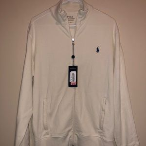 NWT Polo Ralph Lauren Full Zip Performance Sweater